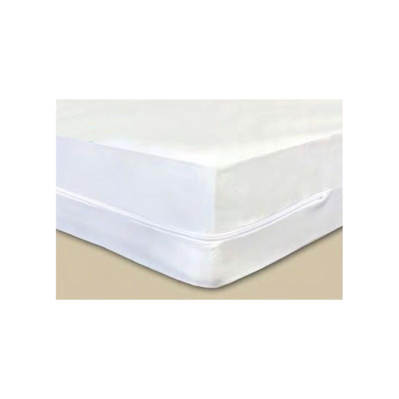 Housse de matelas anti punaises de lit 160x200x17cm for Housse de lit anti punaise