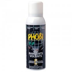 PHOBI F&F aérosol unidose contre tous les insectes nuisibles 150 m3
