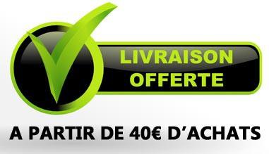 Livraison gratuite à partir de 40€ d'achats